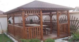 Rustic Lemn Design executa foisoare gradina din lemn!