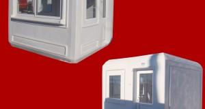 Utilizeaza si tu cabine modulare pe post de cabine de paza!