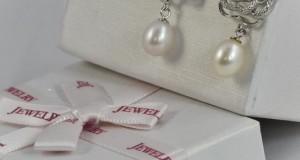 Cercei din argint de la Bijuterii Janette