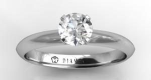 Cereti mana alesei inimii cu un inel de logodna din aur alb din oferta Diamag, intr-un cadru feeric!