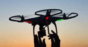 S-a ales cu amendă după ce a filmat cu drona