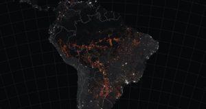 Teritorii imense de păduri au ars în Bolivia
