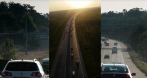 Toți pleacă spre mare, autostrada Soarelui plină de mașini