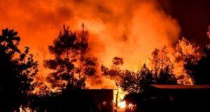 Noi incendii de vegetație în Grecia