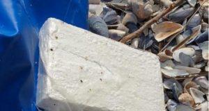 Aflați pe plajă au găsit un pachet care valorează 600.000 de dolari