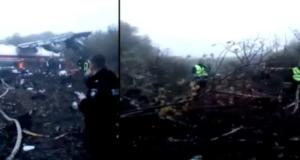 În Ucraina un avion s-a prăbușit. Oameni  morți